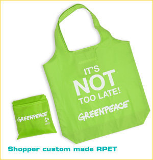 Greenpeace shopper