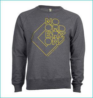 festival gadgets - voorbeeld: Noorderzon sweater
