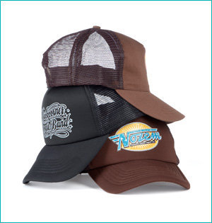 Zwarte Cross trucker caps