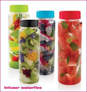 infuser waterfles