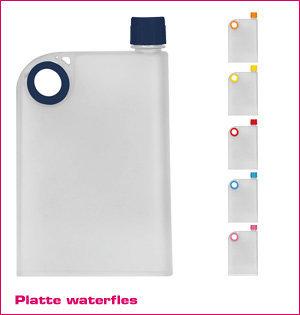 platte waterfles