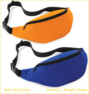 heuptas bedrukken - voorbeeld: belt bag easy orange bright royal
