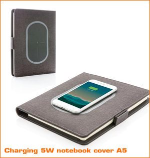 charging 5W notebook cover A5