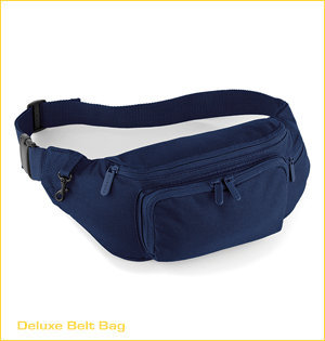 fanny pack bedrukken - voorbeeld: deluxe belt bag navy