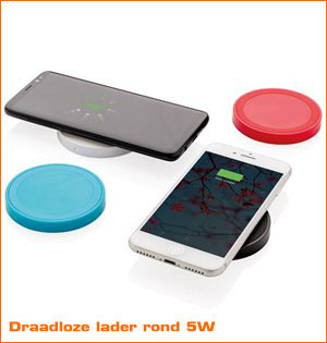 draadloze lader rond 5W
