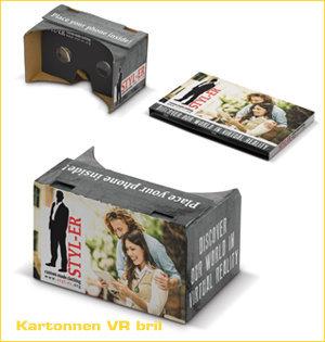 virtual reality bril bedrukken - voorbeeld: kartonnen vr bril