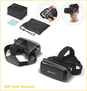 virtual reality bril bedrukken - voorbeeld: vr bril deluxe