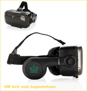 virtual reality bril bedrukken - voorbeeld: VR bril met koptelefoon