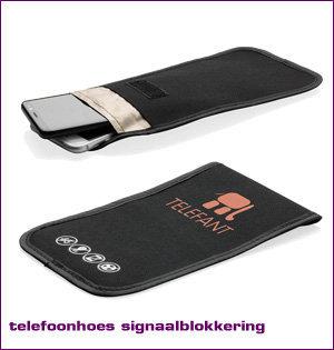 GSM blocker bedrukken - voorbeeld: telefoonhoes met signaalblokkering