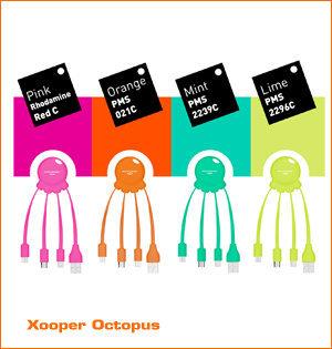 Xooper Octopus nieuwe kleuren