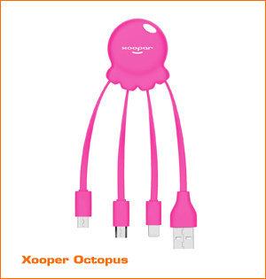 Xooper Octopus roze
