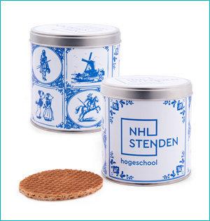 NHL Stenden stroopwafel
