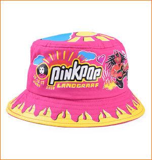 Pinkpop hoedje 2018