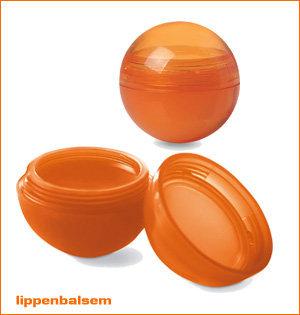 oranje merchandise - voorbeeld: lippenbalsem