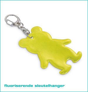 fluoriserende sleutelhanger