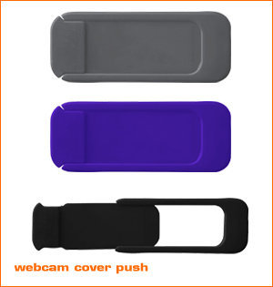 webcam cover bedrukken - voorbeeld: webcam cover Push zpg