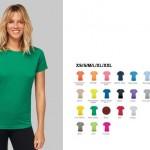 sportkleding bedrukken - voorbeeld: dames sportshirt