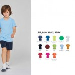 kinderkleding bedrukken - voorbeeld: kinder sportshirt