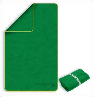 microvezel handdoek bedrukken met logo - voorbeeld: microvezel handdoeken TU