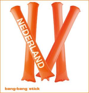 Bang-bang stick oranje