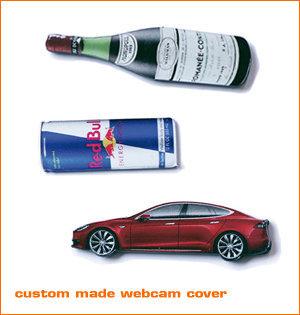 webcam cover bedrukken - voorbeeld: custom made webcam cover