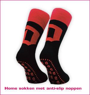 sokken met logo - voorbeeld: home sokken