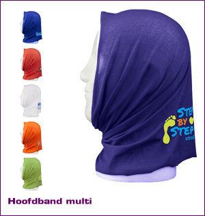 bandana bedrukken - voorbeeld: hoofdband multifuntioneel