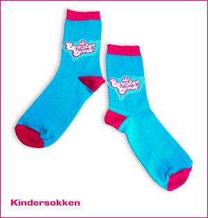 sokken met eigen logo - voorbeeld: kindersokken