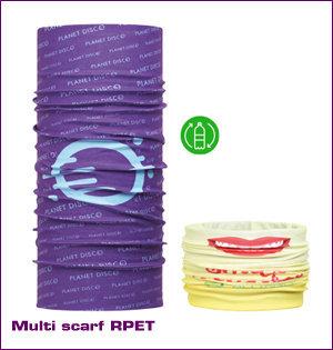 bandana bedrukken - voorbeeld: multi scarf