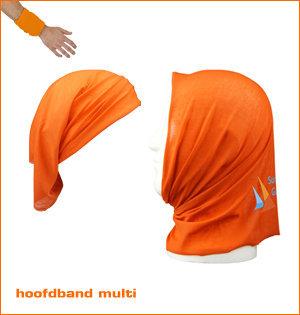 oranje hoofdband multi