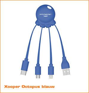 Xooper Octopus blauw