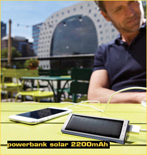 powerbank solar 2200