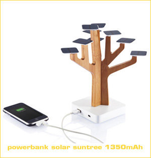 powerbank solar suntree 1350