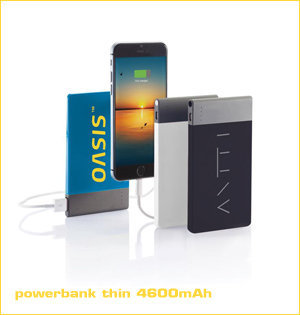 powerbank thin 4600