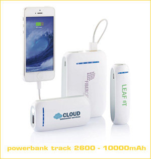 powerbank track 2600