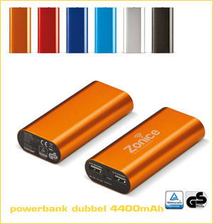 powerbank tuv 4400
