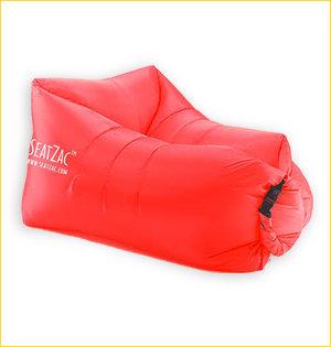 Seatzac bedrukken - voorbeeld: Seatzac rood