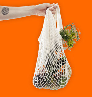 mesh bag gepersonaliseerd home