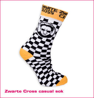 zwarte cross sokken
