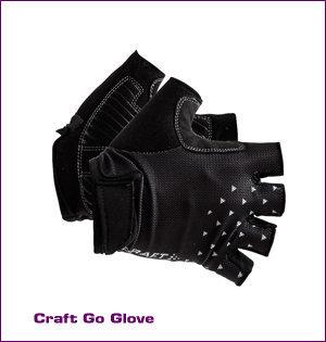 Craft wielerkleding bedrukken - voorbeeld: Craft go glove