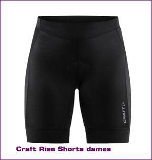 Craft bedrukken - voorbeeld: Craft rise shorts dames