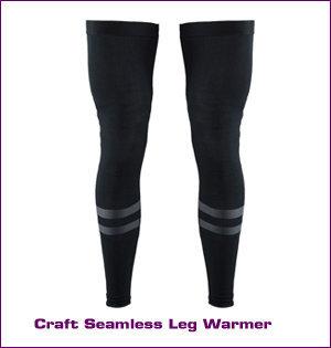 Craft kleding bedrukken - voorbeeld: Craft seamless legg warmer