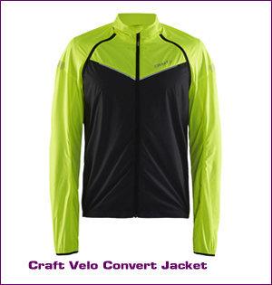 Craft kleding bedrukken - voorbeeld: Craft velo convert jacket