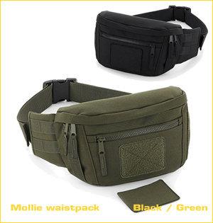 heuptassen bedrukken - voorbeeld: Mollie waistpack