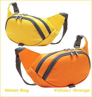 beltbag bedrukken - voorbeeld: waist bag geel oranje