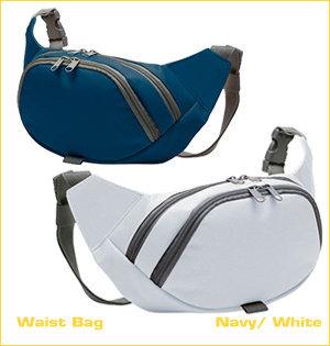 beltbag bedrukken - voorbeeld: waist bag navy white