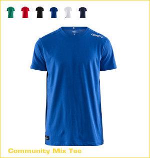 Craft hardloopshirt bedrukken - voorbeeld: Craft community mix tee 1907388