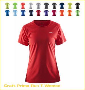 Craft hardloopshirt bedrukken - voorbeeld: Craft prime run t women 1903176