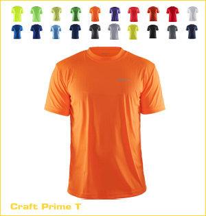 Craft hardloopshirt bedrukken - voorbeeld: Craft prime t 199205