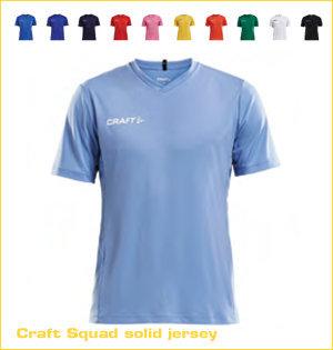 Craft hardloopshirt bedrukken - voorbeeld: Craft squad solid jersey 1905560